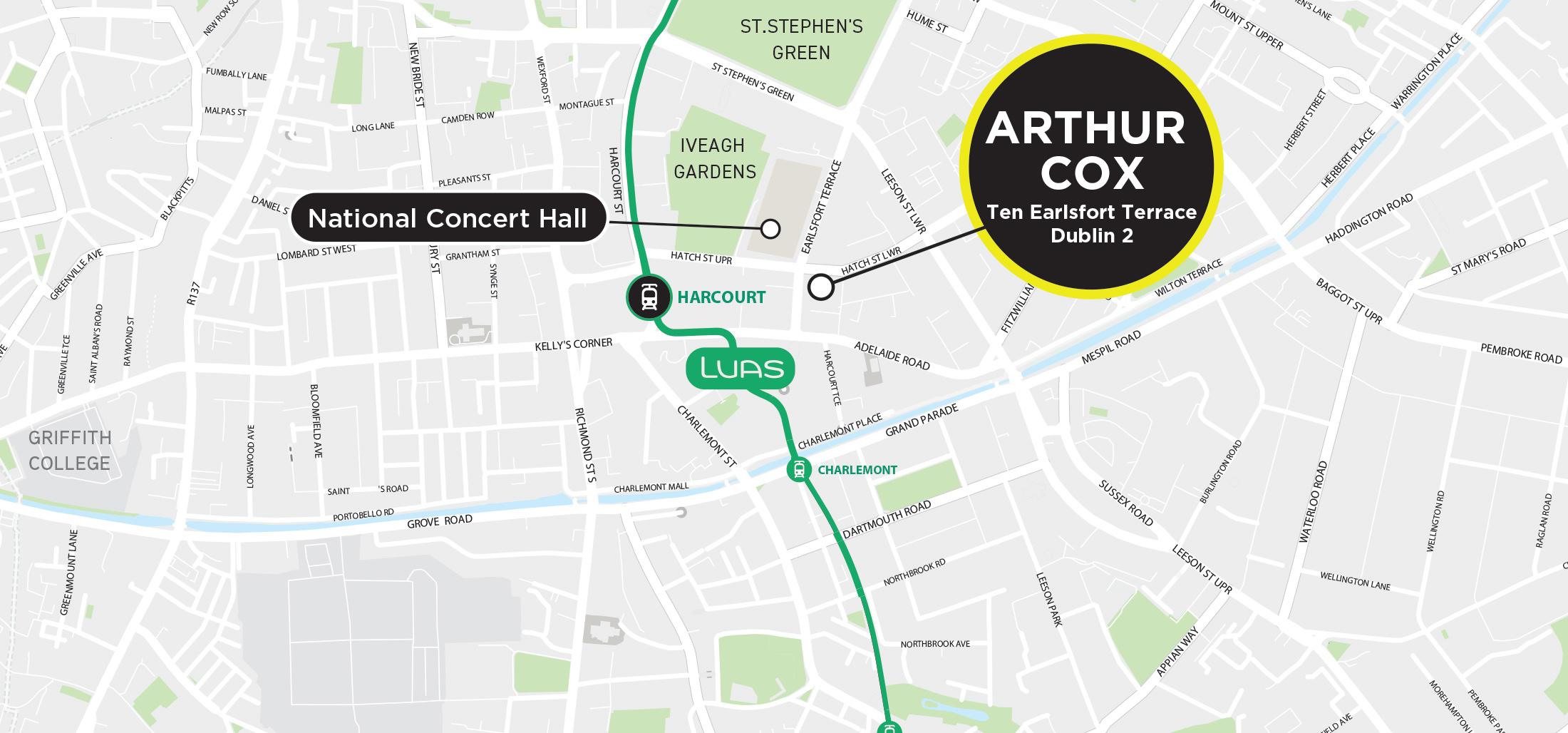 DisruptHR Dublin location map